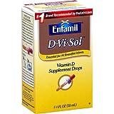 Enfamil D-Vi-Sol Vitamin D Supplement Drops 1.66 fl oz (50 ml) (Pack of 2)