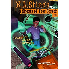 Caution: Aliens at Work (Ghosts of Fear Street #32) by R.L. Stine