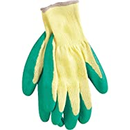 Do it Best Global Sourcing 703616 Grip Coated Glove-GREEN LARGE GRIP GLOVE