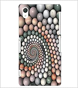 PrintDhaba Pattern D-5363 Back Case Cover for SONY XPERIA Z2 (Multi-Coloured)