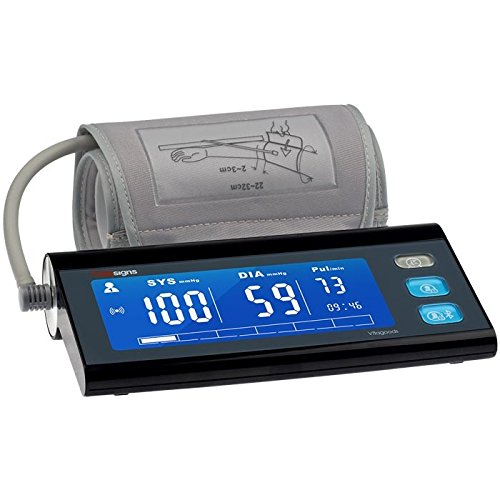 Vitagoods Vs-4000 Bluetooth Desktop Blood Pressure Monitor, Plastic