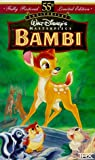 Video - Bambi (Fully Restored 55th Anniversary Limited Edition) (Walt Disney's Masterpiece) [VHS]
