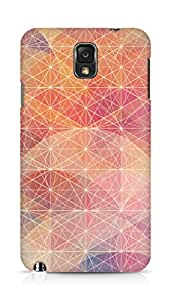 Amez designer printed 3d premium high quality back case cover for Samsung Galaxy Note 3 (Colourful design)