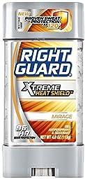 Right Guard Xtreme Heat Shield Antiperspirant & Deodorant Gel, Mirage 4 oz (Pack of 2)