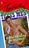 img - for Mr. December (Temptation #711) book / textbook / text book