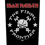 Iron Maiden Back-Patch, Design: The Final Frontier - Vintage Skull
