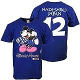 (株)グレイス なでしこジャパン ミッキーマウスTシャツ・サッカーコレクション ブルー