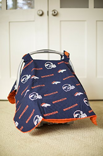 Carseat Canopy (NFL Denver Broncos) Baby Infant Car Seat Cover