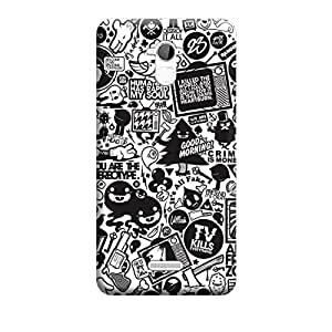 Digi Fashion Designer Back Cover with direct 3D sublimation printing for Coolpad note 3