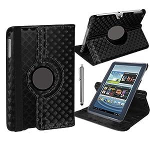 Stuff4 Stuff4 MR-GT27.0-L360 - Funda para tablet Samsung Galaxy Tab 2 7 (P3100 / P3110), negro diamante (noir diamant)  Informática Comentarios y más información