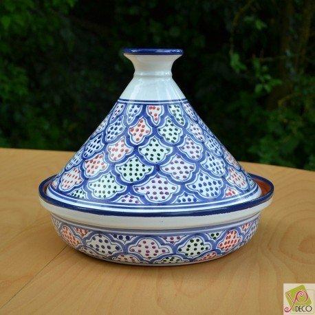 Tajine Medina color - Diam 31 cm bombé