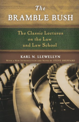 the-bramble-bush-the-classic-lectures-on-the-law-and-law-school