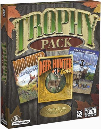 Trophy Hunting 4-in-1 Pack (Bird Hunter, Deer Hunter, Trophy Hunter, Hunting DVD Movie)