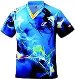 ニッタク(Nittaku) 男女兼用 卓球 ユニフォーム スカイマジカルシャツ NW2162 ブルー(09) 150