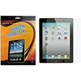 iPad 4 Screen Protector (Premium HD Clear / Invisible / Anti Scratch) for iPad 4th Gen, iPad 3, iPad 2 and iPad 4 with Retina Display (NOT for iPad Air / iPad 5) - Black Rhino 2 Packs Retail Packaging