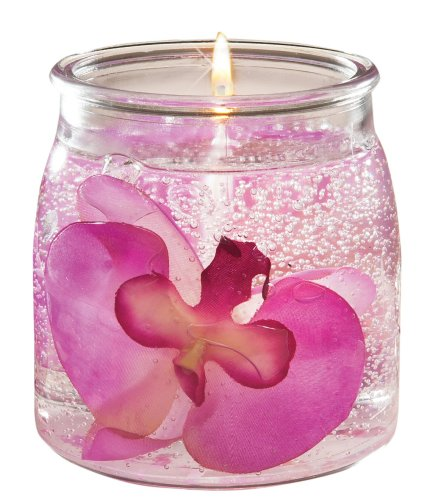 Langley Orchid 16 ounce Gel Candle