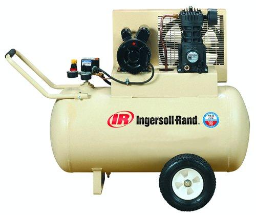 Ingersoll-Rand Ss3F2-Gm Garage Mate 15 Amp 2 Horsepower 30 Gallon Oiled Wheeled Single Hot Dog Compressor