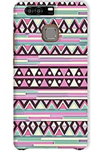 IndiaRangDe Case For Huawei P9 (Printed Back Cover)