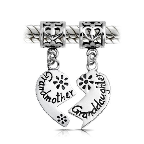 Bling Jewelry 925 Silver Grandmother Granddaughter