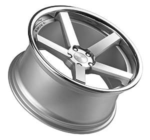 Stance SC-5IVE SC5 19×8.5″ 19×9.5″ BMW 3 5 Series Wheels Rims Silver Chrome Lip .4pc – 1Set