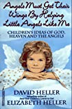 Angels Must Get Their Wings By Helping Little Angels Like Me: Children's Ideas of God, Heaven and the Angels (0821751565) by Heller, David