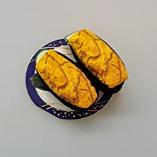 寿司ソックス 海胆/白-フリーサイズ