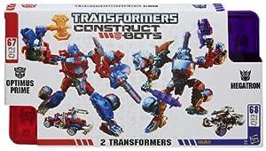 Transformers Construct-Bots Optimus Prime Vs Megatron Construction Set