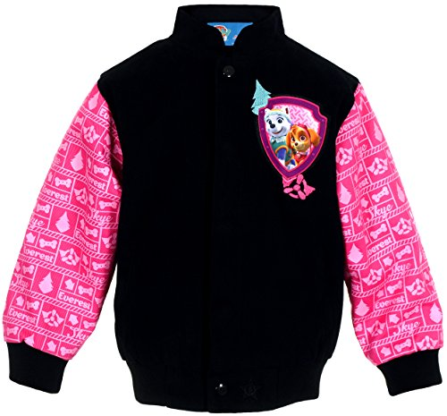 Paw Patrol Skye & Everset Girls Character Snap Up Jacket (7) (Paw Patrol Emblem compare prices)