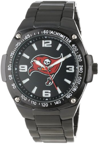 Game Time Unisex NFL-WAR-TB Warrior Tampa Bay Buccaneers Analog 3-Hand Watch at Amazon.com
