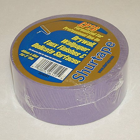 Shurtape CP-28 30-Day Purple Painters Tape: 2 in. x 60 yds. (Purple)