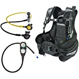 Cressi Sub Start Scuba Diving BCD, Compact Reg, Gauge Bundle