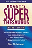 Roget's Super Thesaurus (Rogets) (1582972540) by McCutcheon, Marc