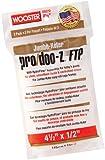 """Wooster Brush RR372-4 1/2 Inch Pro Doo Z FTP Jumbo Koter Miniroller 2-Pack Cover 1/2"""" Nap"""