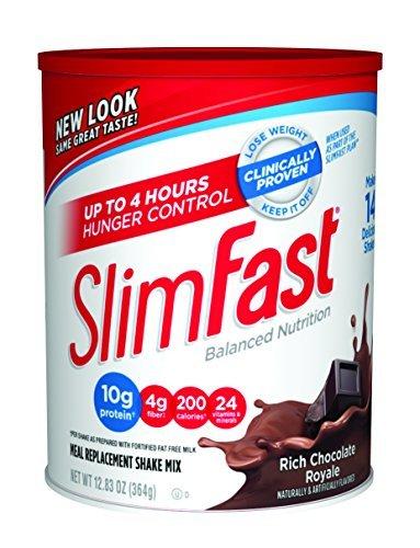 slimfast-powder-shake-mix-rich-chocolate-royale-1283-oz-by-slim-fast