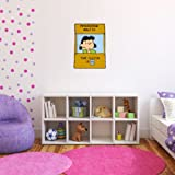 """Lucy Doctor is In Peanuts snoopy Wall Graphic Decal Sticker 25"""" x 18"""""""