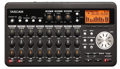 TASCAM DP-008 8-Track Digital Portastudio