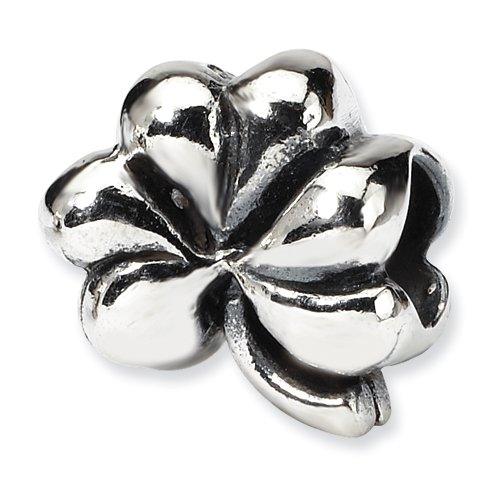 Sterling Silver Clover Bead