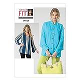 Vogue Patterns V1443OSZ Misses Blouse