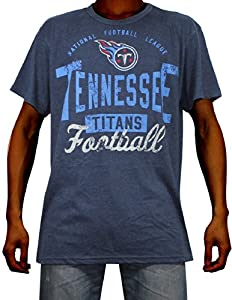 Mens NFL Tennessee Titans Athletic Short Sleeve T-Shirt (Vintage Look) by NFL