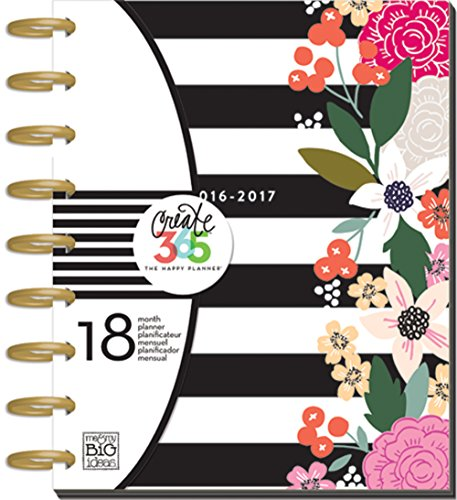 Me & my BIG ideas Create 365 The Happy Planner, Botanical Garden, 18 Month Planner, July 2016 - December 2017