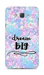 AMEZ dream big Back Cover For Samsung Galaxy J7