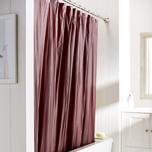 United Linens 10 Gauge HEAVY DUTY Shower Curtain Liner Burgundy,72x72, PEVA, , Mildew Free, Resistant, Mold Resistant , Eco Friendly , Vinyl , No Chemical Odor High quality liner (W Hotel Room Scent compare prices)