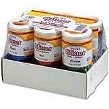 Pacon 91370 Spectra glitter 6-color assortment, 4 oz. shaker-top jars, 6 per carton