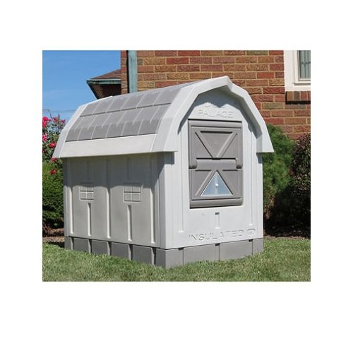 ASL Solutions Deluxe Insulated Dog Palace with Floor Heater (Dog Palace Dog House compare prices)