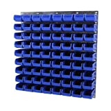 Parts Bin & Wall Panel - Set 14 (Blue)