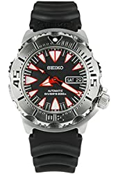 Seiko Divers Automatic Black Dial Stainless Steel Mens Watch SRP313