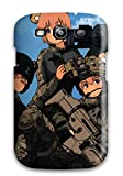 Case Cover Military Blue S Animal Ears Assault Rifle Scar-h/ Fashionable Case For Iphone 5c