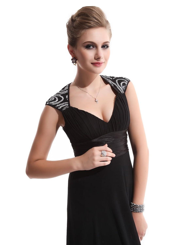 598ddd910b Ever Pretty Chiffon Sexy V-neck Ruched Empire Line Evening Dress 09672