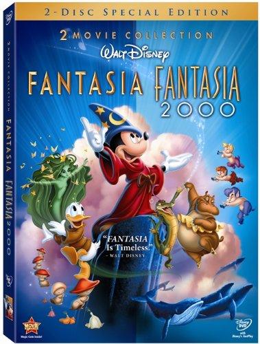 Fantasía + Fantasía 2000 [DVD]