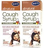 Matys All Natural Childrens Cough Syrup, 4 oz(Pack of 2)